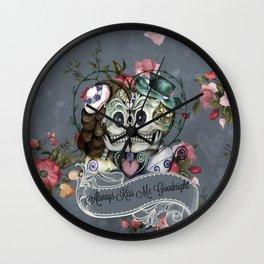 Always Kiss Me Goodnight ll Wall Clock
