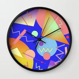 Memphis #414 Wall Clock