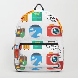 Travel Icons Backpack
