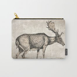 Vintage Stag Carry-All Pouch