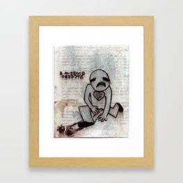 Two Missing Objects Framed Art Print