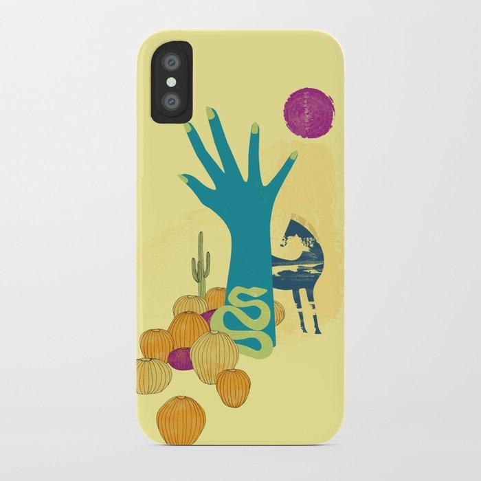 in the desert iPhone Case