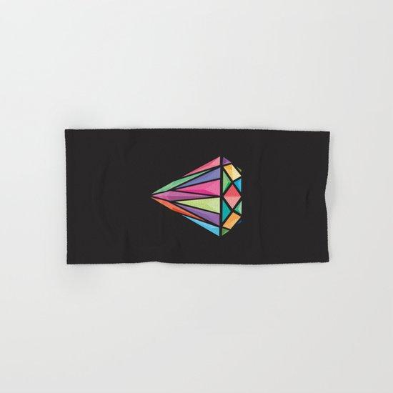Geometric Diamond Hand & Bath Towel