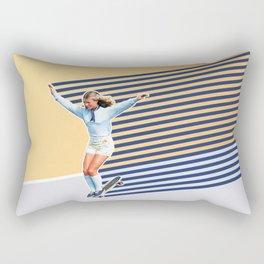 Skate Like a Girl 02 Rectangular Pillow
