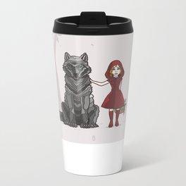 Red Hood Metal Travel Mug