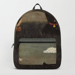 Three Bad Cats ( Tres Gatos Malos) by Gertrude Abercrombie Backpack