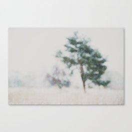 a winter's morning print Canvas Print