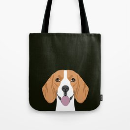 Darby - Beagle gifts for pet owners and dog person with a beagle Tote Bag