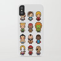 foo fighters iPhone & iPod Cases featuring The Fighters by Papyroo