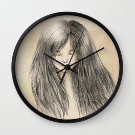hair dreams Wall Clock