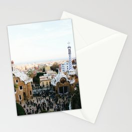 View from Park Güell Stationery Cards