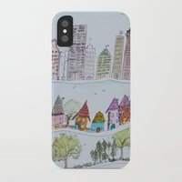 the neighbourhood iPhone & iPod Cases featuring Around The Neighbourhood  by edarcydesign