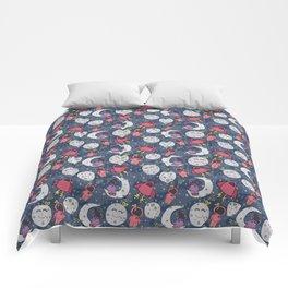 Girl Over the Moon Comforters