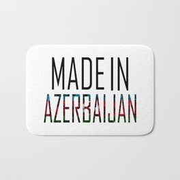 Made In Azerbaijan Bath Mat