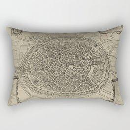 Bruges 17th Century Rectangular Pillow