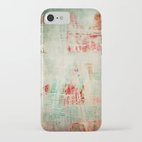 the strokes iPhone & iPod Cases featuring abstract strokes by Iris Lehnhardt
