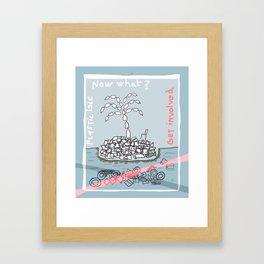 Plastic Isle Framed Art Print