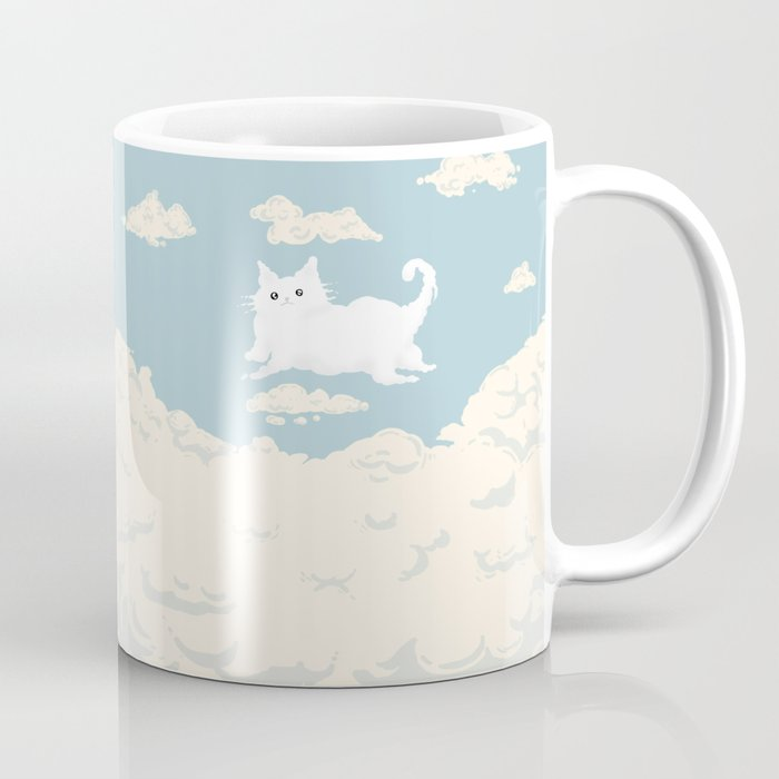 Cat Cloud Coffee Mug