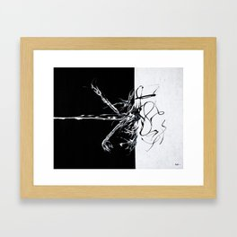 Let's Rock n Roll Framed Art Print