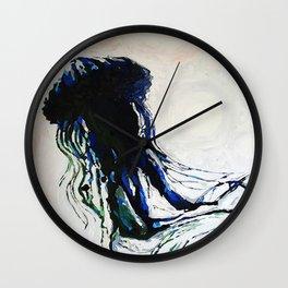 ocean creature Wall Clock