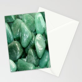 Green Jade Stationery Cards