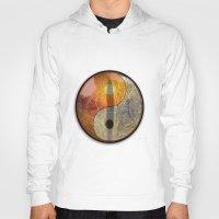 yin yang Hoodies featuring yin yang by Vector Art