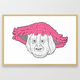 Momma Baskets Framed Art Print
