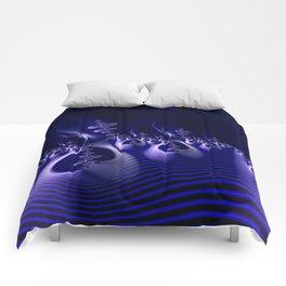 Shockwave Blue Comforters