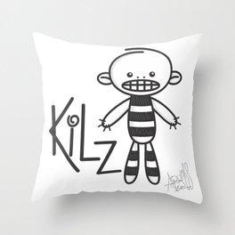 kilz Throw Pillow