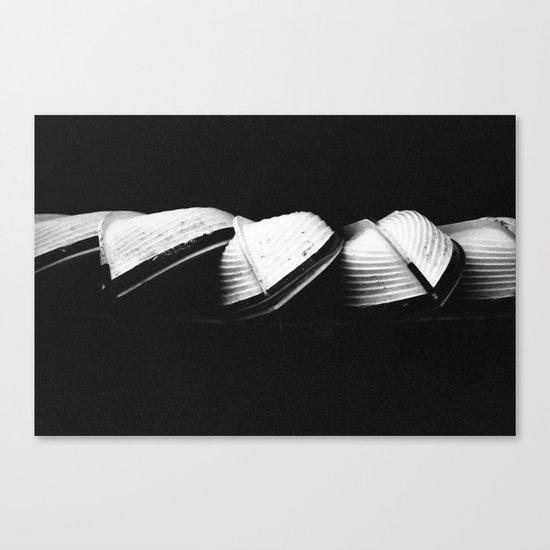 Row Boats 2 Canvas Print