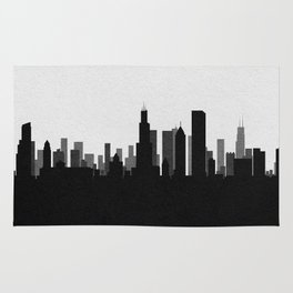 City Skylines: Chicago Rug