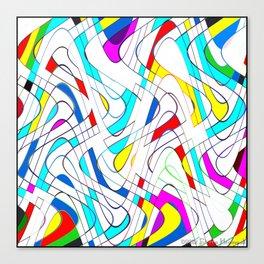 Wavy Works Canvas Print