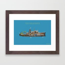 The Belafonte Framed Art Print