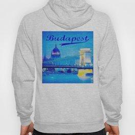 Budapest, light blue Hoody