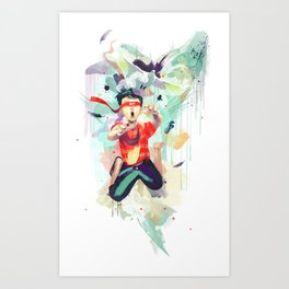 Pursuit of Happiness (Blindfolded) Art Print