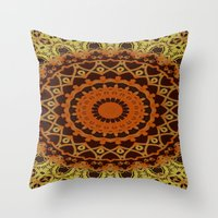 morocco Throw Pillows featuring Morocco by Kimberly McGuiness