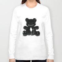 hug Long Sleeve T-shirts featuring Hug by Bubblegun