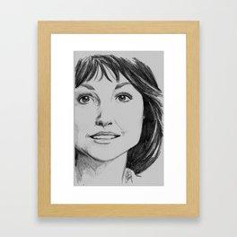 Sarah Jane Framed Art Print
