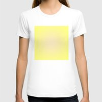 yellow pattern T-shirts featuring Yellow by Mr and Mrs Quirynen