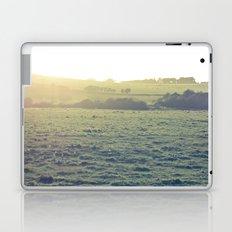 Light in the fields Laptop & iPad Skin