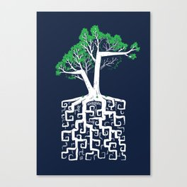 Square Root Canvas Print