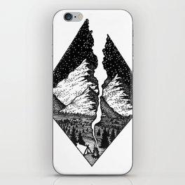 Camp Smoke iPhone Skin