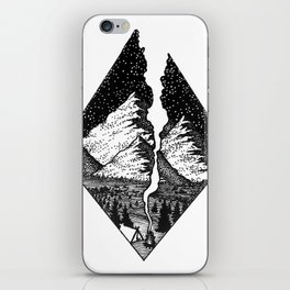Camp Smoke iPhone Skin