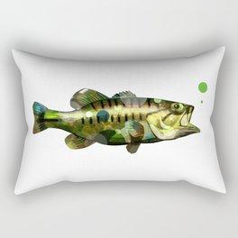 Spotted Bass Rectangular Pillow
