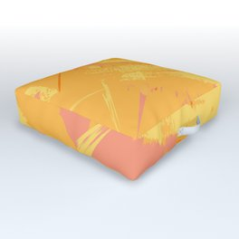 Retro Sunshine Outdoor Floor Cushion