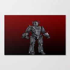 Cyberman... Canvas Print