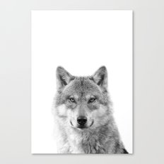 Wolf Photography [wild animal_forest animal_fine art animal photography_poster animal_animal photo] Canvas Print