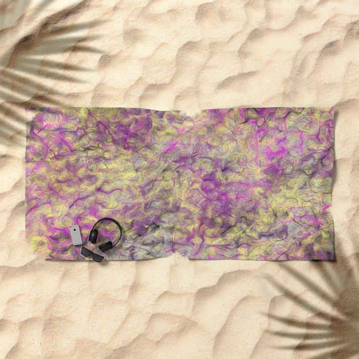 Field of Wild Beach Towel