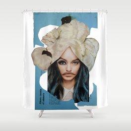 La Celeste Shower Curtain