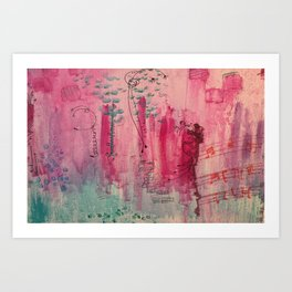 City Joy Art Print